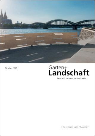 Cover Garten + Landschaft 10/2015